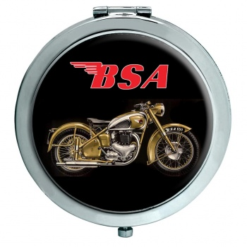 BSA Gold Flash Chrome Mirror