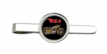 BSA Gold Flash Tie Clip