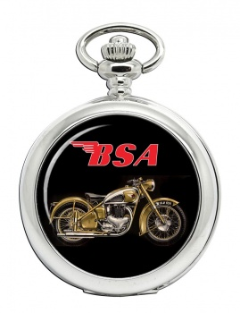 BSA Gold Flash Pocket Watch