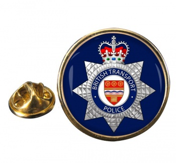 British Transport Police Round Pin Badge