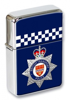 British Transport Police Flip Top Lighter