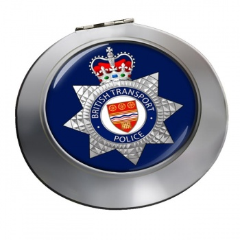 British Transport Police Chrome Mirror