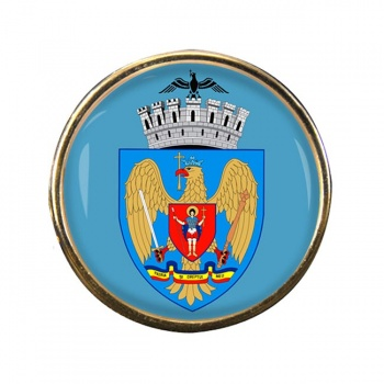 Bucuresti Bucharest (Romania) Round Pin Badge