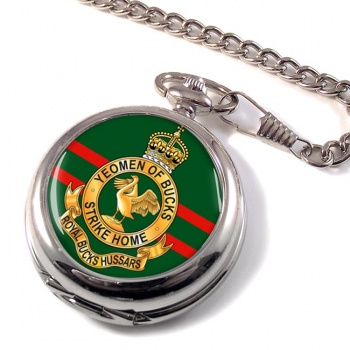 Royal Buckinghamshire Hussars (British Army) Pocket Watch