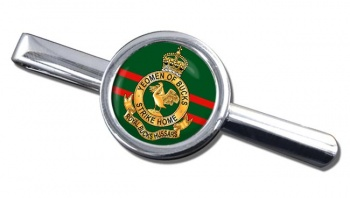 Royal Buckinghamshire Hussars (British Army) Round Tie Clip