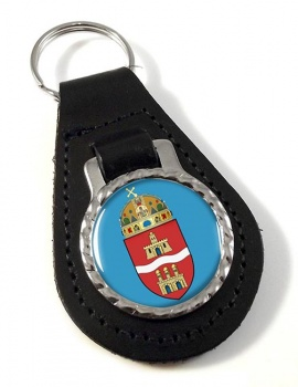 Budapest Leather Key Fob