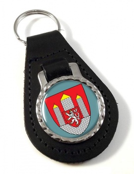 Ceske Budejovice Leather Key Fob
