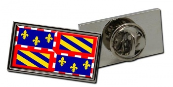 Bourgogne Burgundy (France) Flag Pin Badge