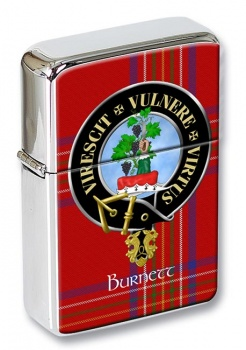 Burnett Scottish Clan Flip Top Lighter