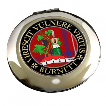 Burnett Scottish Clan Chrome Mirror