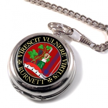 Burnett Scottish Clan Pocket Watch