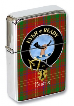 Burns Scottish Clan Flip Top Lighter
