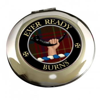 Burns Scottish Clan Chrome Mirror