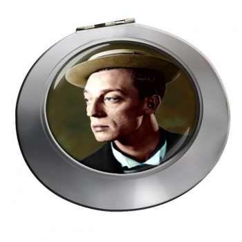 Buster Keaton Chrome Mirror