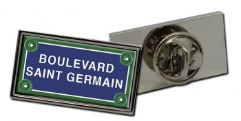 Boulevard St. Germain Rectangle Pin Badge