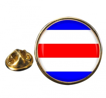 Charlie Affirmative Distress Flag Round Lapel