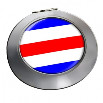 Charlie Affirmative Distress Flag Chrome Mirror