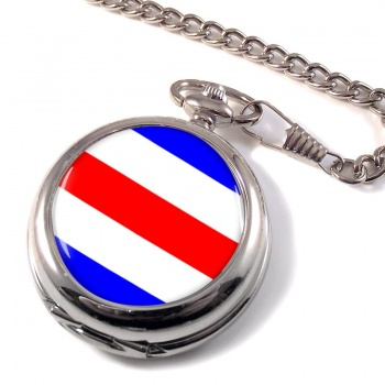 Charlie Affirmative Distress Flag Pocket Watch