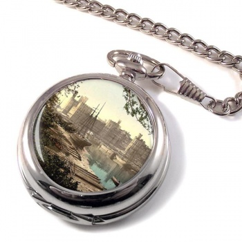 Caernarfon Castle Pocket Watch