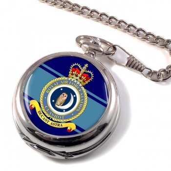 RAF Station Calshot Pocket Watch