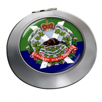 Calgary Highlanders (Canadian Army) Chrome Mirror