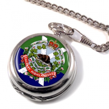 Calgary Highlanders (Canadian Army) Pocket Watch