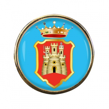 Caltanissetta (Italy) Round Pin Badge