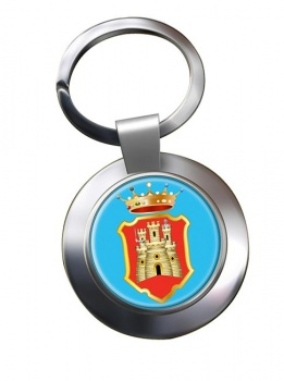 Caltanissetta (Italy) Metal Key Ring