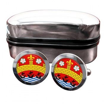 Cambridge (England) Crest Cufflinks