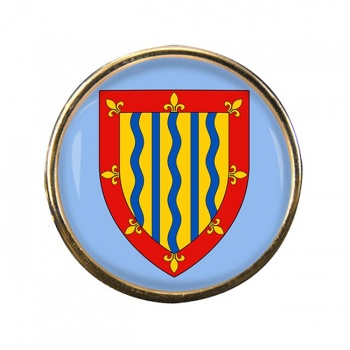 Cambridgeshire (England) Round Pin Badge