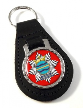 Cambridgeshire Fire and Rescue Leather Key Fob
