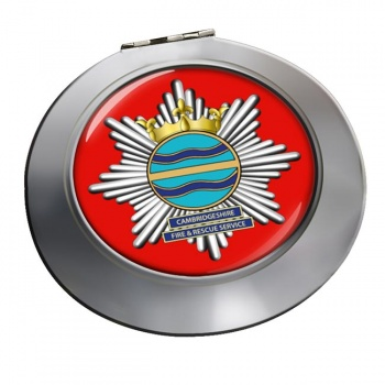 Cambridgeshire Fire and Rescue Chrome Mirror