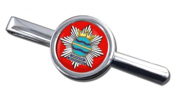 Cambridgeshire Fire and Rescue Round Tie Clip