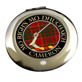 Cameron ancient Scottish Clan Chrome Mirror