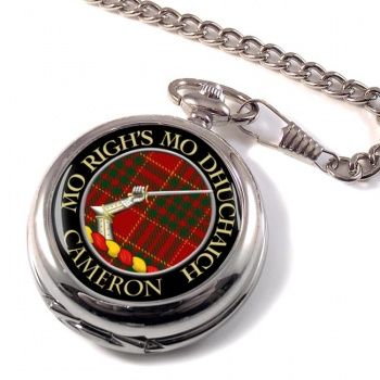 Cameron ancient Scottish Clan Pocket Watch