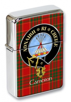 Cameron Scottish Clan Flip Top Lighter
