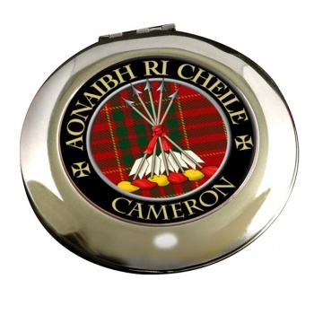 Cameron Scottish Clan Chrome Mirror