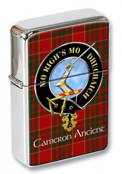 Cameron ancient Scottish Clan Flip Top Lighter