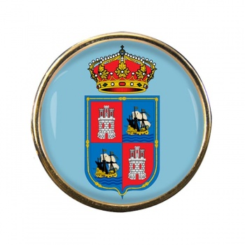 Campeche (Mexico) Round Pin Badge