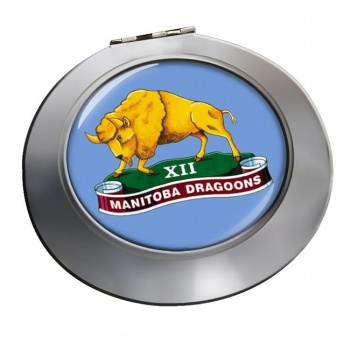 12th Manitoba Dragoons (Canadian Army) Chrome Mirror