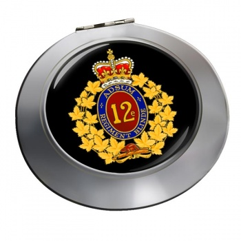 12e Re�giment blinde� du Canada (Canadian Army) Chrome Mirror