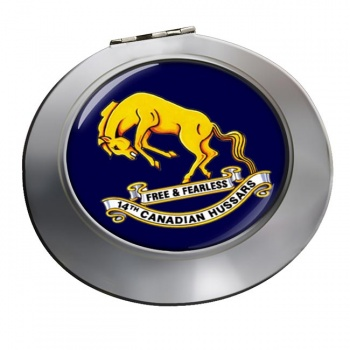 14th Canadian Hussars (Canadian Army) Chrome Mirror