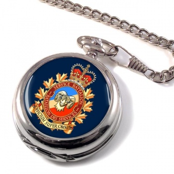 1 Service Battalion (Canadian Army) Pocket Watch