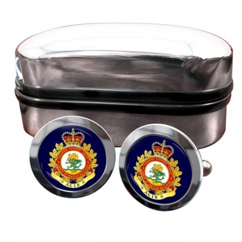 3 Canadian Support Group (Canadian Army) Round Cufflinks