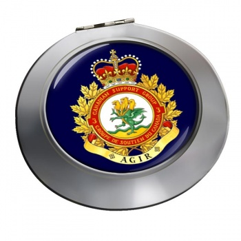 3 Canadian Support Group (Canadian Army) Chrome Mirror