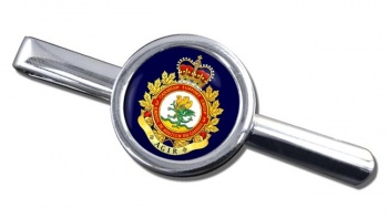 3 Canadian Support Group (Canadian Army) Round Tie Clip