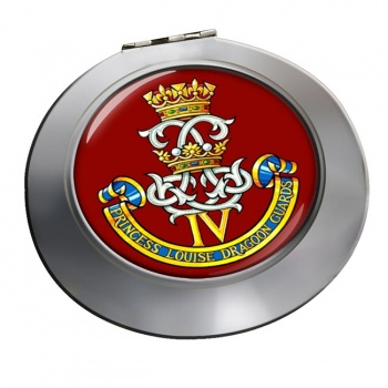 4th Princess Louise Dragoon Guards (Canadian Army) Chrome Mirror