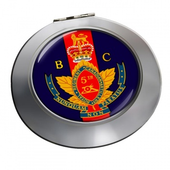 5th (British Columbia) Field Artillery Regiment (Canadian Army) Chrome Mirror