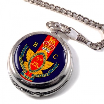 5th (British Columbia) Field Artillery Regiment (Canadian Army) Pocket Watch