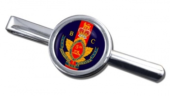 5th (British Columbia) Field Artillery Regiment (Canadian Army) Round Tie Clip